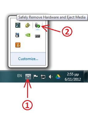 windows 7 remove usb